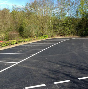 Carpark Markings and bays